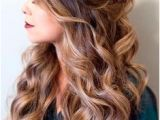 Prom Hairstyles Down 2019 1051 Best Half Up Hair Images On Pinterest In 2019
