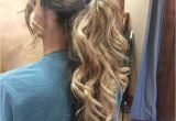 Prom Hairstyles Down 2019 Dressy Ponytails Hairstyles In 2019 Pinterest