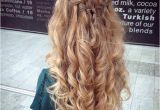 Prom Hairstyles Down and Straight 31 Half Up Half Down Prom Hairstyles