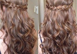 Prom Hairstyles Down and Straight Sweet Sixteen Prom Hair Frisuren Pinterest