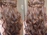 Prom Hairstyles Down Tutorial Sweet Sixteen Prom Hair Hairstyles