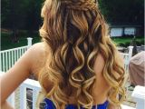 Prom Hairstyles for Long Hair Down with Braids 21 Gorgeous Home Ing Hairstyles for All Hair Lengths