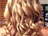 Prom Hairstyles for Long Hair Down with Braids 30 Best Prom Hairstyles for Long Curly Hair