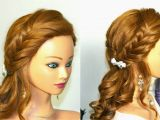 Prom Hairstyles for Long Hair with Braids and Curls 43 Elegant Hairstyles with Braids and Curls