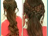 Prom Hairstyles for Long Hair with Braids and Curls Prom Hairstyles for Long Hair Prom Hairstyles Modern Amazing Punjabi