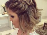 Prom Hairstyles for Medium Hair with Braids 20 Gorgeous Prom Hairstyle Designs for Short Hair Prom