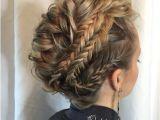 Prom Hairstyles for Medium Hair with Braids 27 Super Trendy Updo Ideas for Medium Length Hair