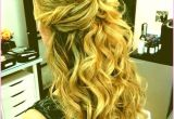 Prom Hairstyles for Short Hair Half Up Half Down Curly Fresh Prom Down Hairstyles for Short Hair – Uternity