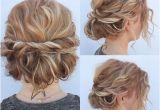 Prom Hairstyles for Short Hair Updos with Braids 23 Long Curly Updo Hairstyles