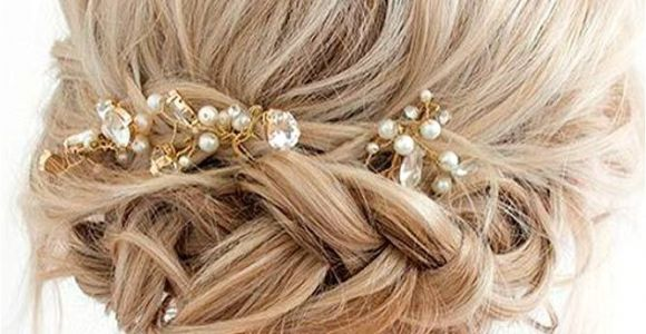 Prom Hairstyles for Short Hair Updos with Braids 33 Amazing Prom Hairstyles for Short Hair 2019 Hair