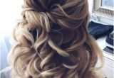 Prom Hairstyles Half Up Half Down 2019 33 We Love Home Ing Hairstyles Half Up Half Down Curls Long Curly
