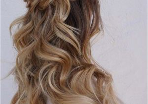 Prom Hairstyles Half Up Half Down Curly Braid 50 Stunning Half Up Half Down Wedding Hairstyles