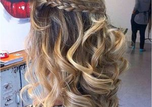 Prom Hairstyles Half Up Half Down Curly with Braid 31 Half Up Half Down Prom Hairstyles