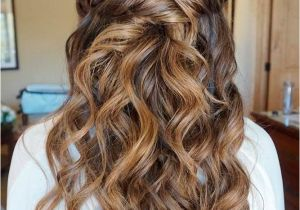 Prom Hairstyles Half Up Half Down Curly with Braid 36 Amazing Graduation Hairstyles for Your Special Day