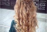 Prom Hairstyles Half Up Half Down Short Hair 31 Half Up Half Down Prom Hairstyles Hair Pinterest