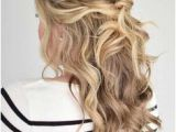 Prom Hairstyles Mostly Down 141 Best Half Up Half Down Textured Images