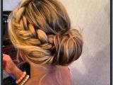 Prom Hairstyles Updo Buns 15 Braided Bun Updos Ideas Haare & Make Up Pinterest