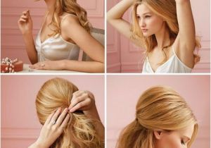 Quick and Easy formal Hairstyles Quick and Easy Prom Hairstyles