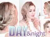 Quick and Easy Hairstyles for A Night Out Day to Night Hairstyles Braided Prom Updo Quick Easy and