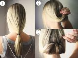Quick and Easy Hairstyles for A Night Out Urbanwalls Blog Blog Hair Tutorial Ponytail Roll