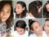 Quick and Easy Hairstyles for Curly Hair for School 6 Cute Curly Hairstyles for Back to School 2015