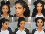 Quick and Easy Hairstyles for Curly Hair for School Easy Everyday Hairstyles Natural Hair Vol 3