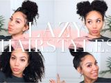 Quick and Easy Hairstyles for Curly Hair for School Lazy Hairstyles for Curly Hair