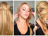 Quick and Easy Hairstyles for Fine Hair Easy Quick Heat Less Hairstyles