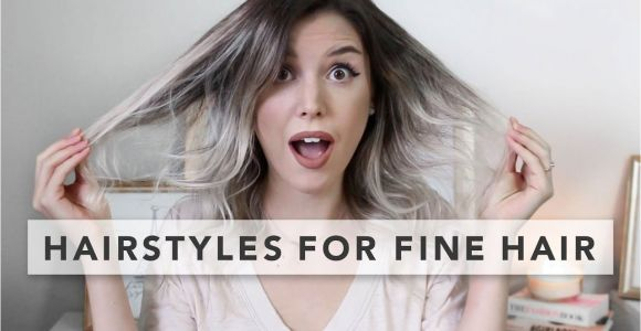 Quick and Easy Hairstyles for Fine Hair Hairstyles for Baby Fine Hair