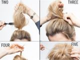 Quick and Easy Hairstyles for Fine Hair Messy & Classy Chignon