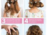 Quick and Easy Hairstyles for Kids Strange Little Buns Strange Flowers Pinterest