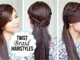 Quick and Easy Hairstyles for Long Hair Youtube Cute Quick and Easy Hairstyles