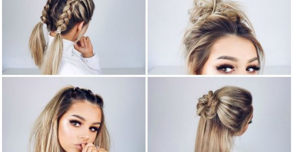 Quick and Easy Hairstyles for Long Hair Youtube Quick and Easy Hairstyles