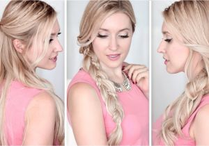 Quick and Easy Hairstyles for Long Straight Hair Long Hair Tutorial Running Late Hairstyles for School