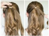 Quick and Easy Hairstyles for Long Thick Hair Quick and Easy Updos for Long Thick Hair