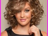 Quick and Easy Hairstyles for Round Faces Medium Length Haircuts for Curly Hair and Round Face