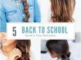Quick and Easy Hairstyles for School for Thick Hair Quick and Easy Hairstyles for Long Thick Hair
