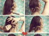 Quick and Easy Hairstyles for School Step by Step 50 Best Images About Messy Updo On Pinterest