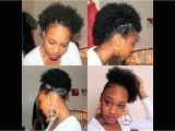 Quick and Easy Hairstyles for Short Black Hair 21 Four Quick Easy Styles for Short Natural Hair