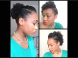 Quick and Easy Hairstyles for Short Black Hair 32 3 Quick Easy Style for Short Natural Hair Wash and