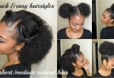 Quick and Easy Hairstyles for Short Black Hair 5 Quick & Easy Hairstyles for Short Medium Natural Hair