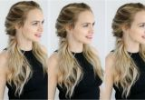 Quick and Easy Hairstyles for Short Hair Videos Easy Twisted Pigtails Hair Style Inspired by Margot Robbie