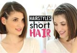 Quick and Easy Hairstyles for Short Hair Videos Hairstyles for Short Hair Tutorial