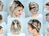 Quick and Easy Hairstyles for Short Thick Hair 10 Easy Braids for Short Hair Tutorial