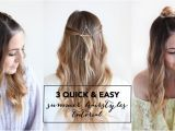 Quick and Easy Hairstyles for Summer 3 Quick and Easy Summer Hairstyles Tutorial