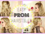 Quick and Easy Homecoming Hairstyles Easy Hairstyles for Home Ing
