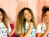 Quick and Easy No Heat Hairstyles Fast and Easy No Heat Curly Hair Styles