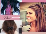 Quick and Easy No Heat Hairstyles No Heat Hairstyles for School