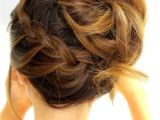 Quick and Easy Updo Hairstyles for Medium Length Hair Trubridal Wedding Blog