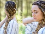 Quick Cute Girl Hairstyles Double Dutch Side Braid Diy Back to School Hairstyle